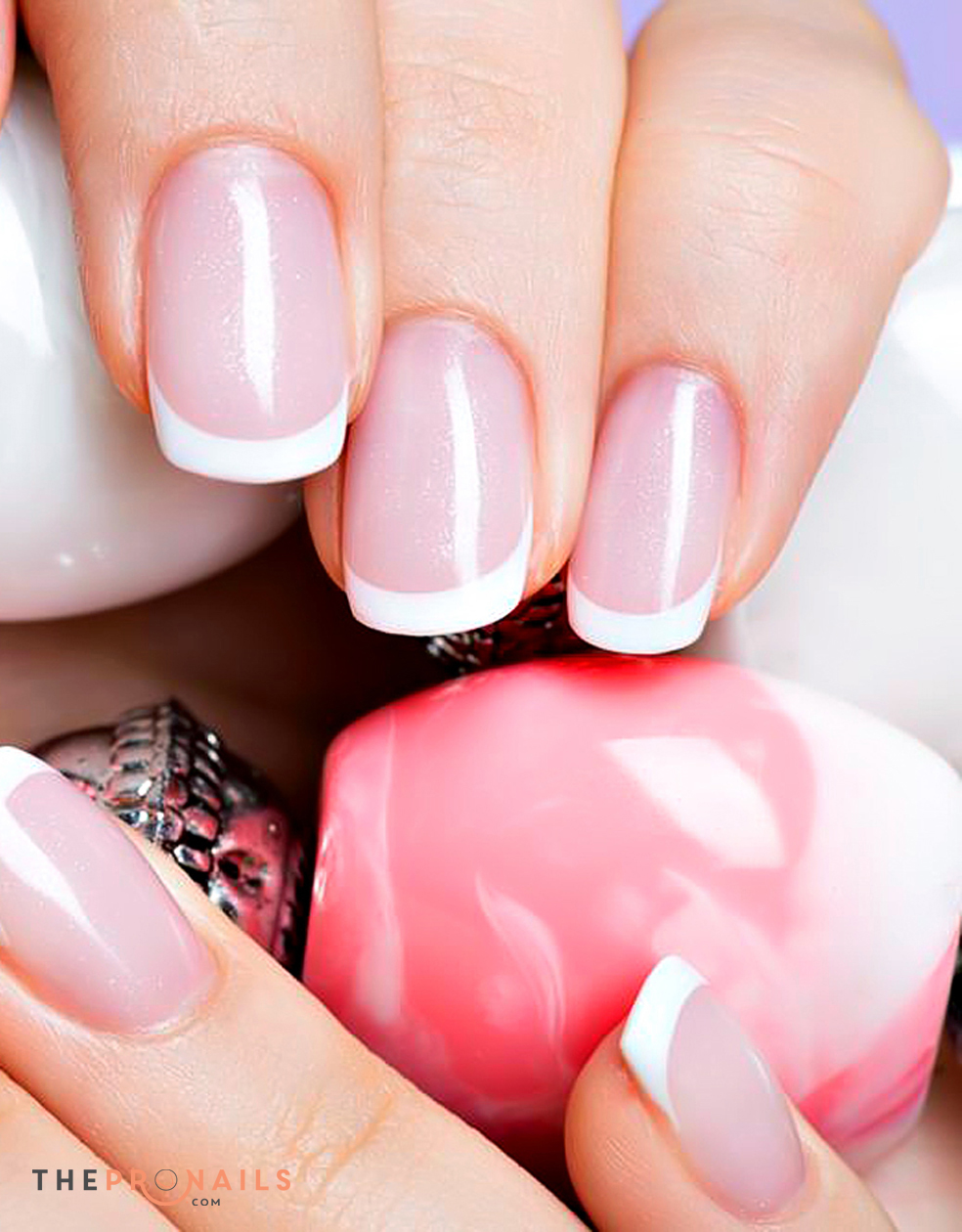 Rose Nail And Spa | Full Set Pink & White (and up)
